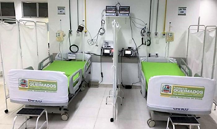 Hospital de Campanha para Covid em Queimados é desativado