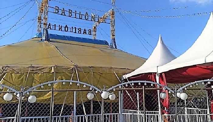 Não teve jeito: o Circo Babilônia está de saída de Queimados