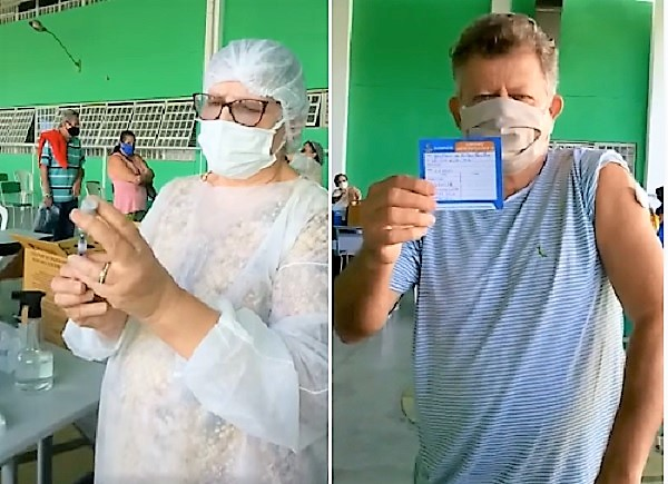 Nesta sexta, 23/04, tem 1ª dose da vacina em Queimados para mulheres com 62 anos
