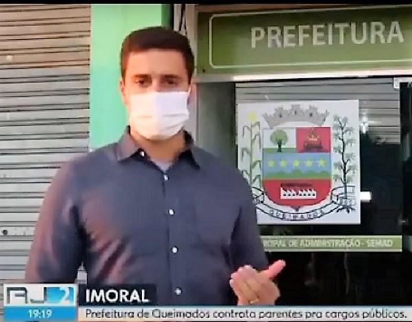 RJ TV revela laços de família em nomeações na Prefeitura de Queimados indicadas por vereadores