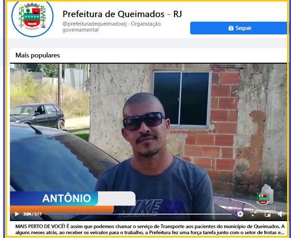 Prefeito Glauco faz em página oficial marketing antiético e autopromocional