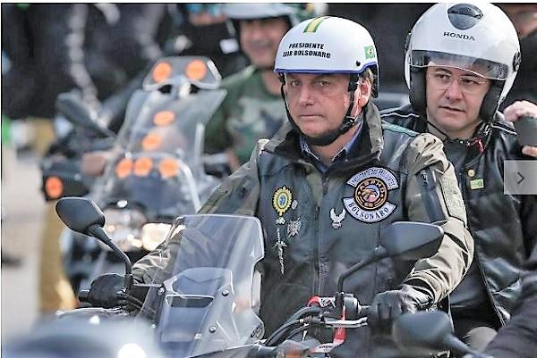 Motociata de Bolsonaro em São Paulo tem menos de 5% do número previsto de motos
