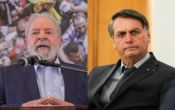 Rejeição à Lula diminui e a Bolsonaro aumenta, dizem pesquisas