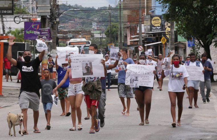 Fórum Grita Baixada realizará 'live' sobre meninos desaparecidos em Belford Roxo