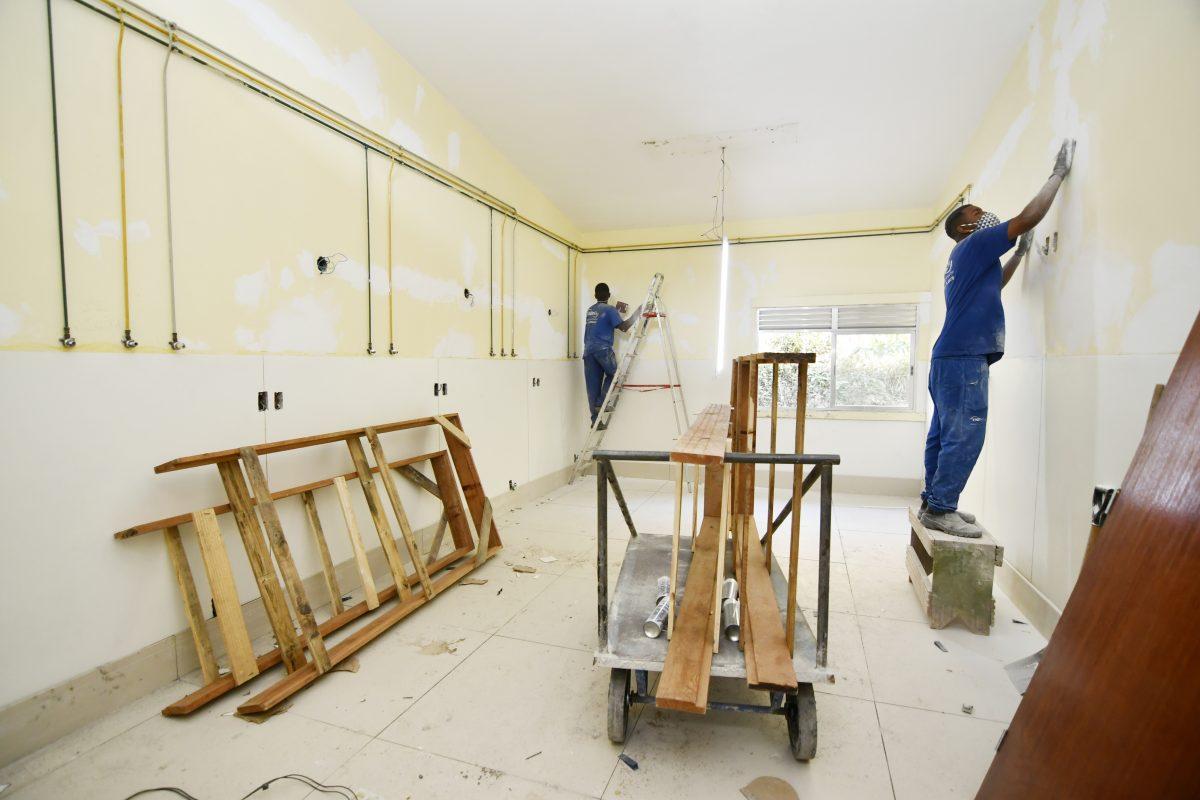 Obras do Hospital da Posse em Nova Iguaçu em fase final