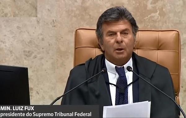 """Fux cancela reunião entre chefes de poderes diante das """"ofensas e inverdades"""" do Presidente Bolsonaro"""
