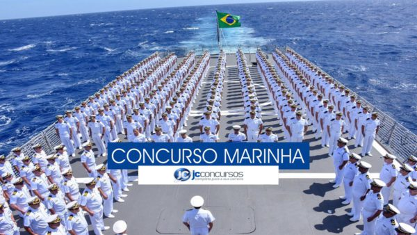 Marinha divulga edital de concurso