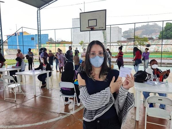 Posto de Vacinação da E. M. Metodista em Queimados mudou para a Vila Olímpica