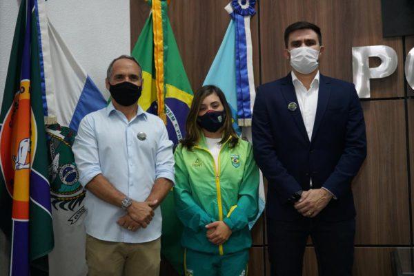 Atletas Olímpicos são homenageados em Nova Iguaçu