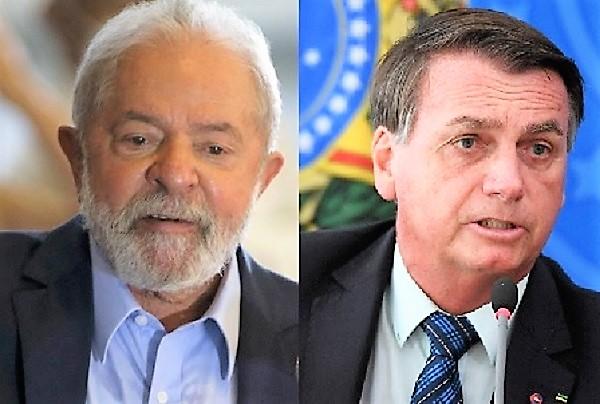 Pesquisa divulgada nesta quarta, 01/09, mostra que Lula amplia vantagem sobre Bolsonaro