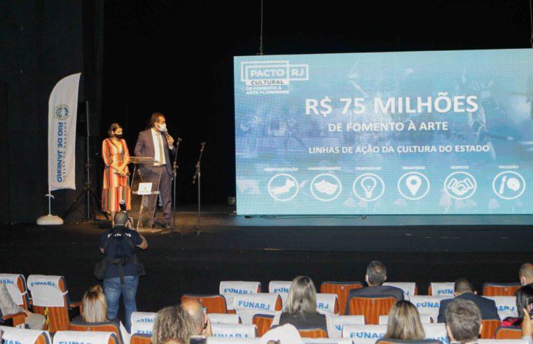 Governo estado anuncia pacote de 75 milhões para o setor cultural ainda este ano