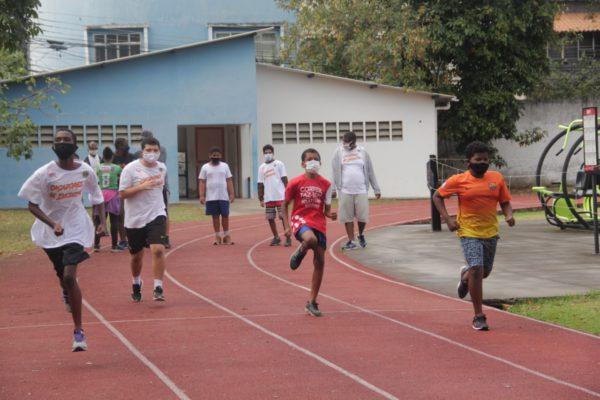 Atletas Paralímpicos treinam em Nova Iguaçu