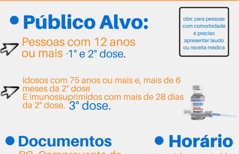 Queimados promove repescagem geral na vacinação contra covid neste sábado, 02