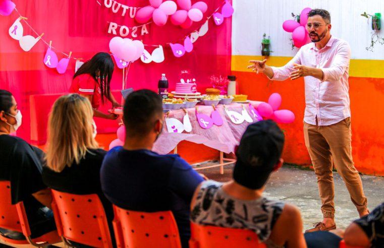Belford Roxo faz ações no outubro rosa
